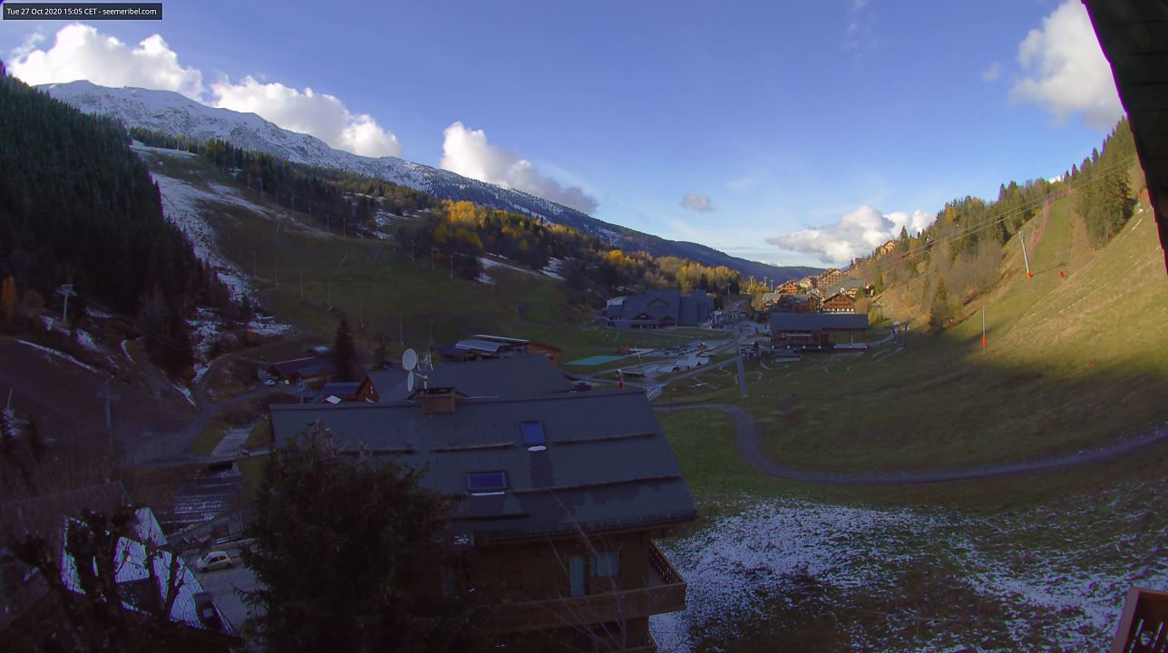 Live webcam of Meribel Chaudanne